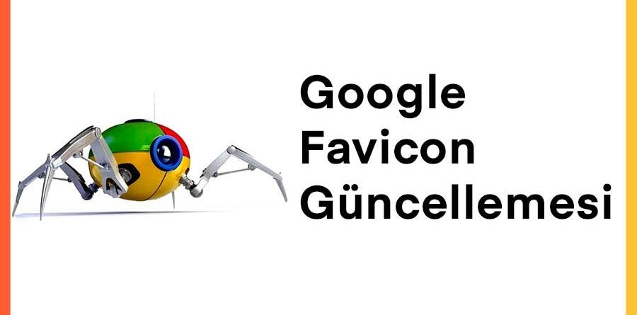 Google Favicon Güncellemesi